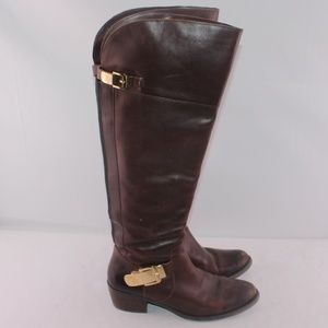 Vince Camuto Bocca Knee High Leather Riding Boots